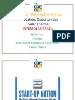 Aplicações de Aquecimento Solar Em Processo Industriais