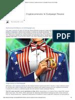 Bitcoin for America_ Cryptocurrencies in Campaign Finance _ Zero Hedge