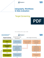 Chromatographic Workflows - Target quantification