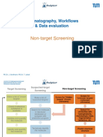 Chromatographic Workflows - Non-target