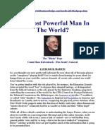 Black Pope - Jesuit's General