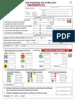 Reporte Preliminar Elección de Presidente 2018