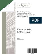 4300 - Completo - Estructura Datos Lista - Cicinelli