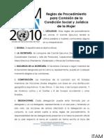 Reglas CCJSM 2010