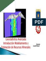 Introduccion Geoestadistica Avanzada Introduccion 20180529