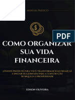 Manual - Como Organizar Sua Vida Financeira