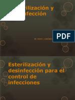 Esterilización y Desinfencción