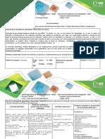 Guía de Actividades y Rúbrica de Evaluación - Paso 3 Realizar Diagnostico Empresaria
