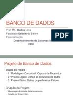 Banco de Dados - Aula01