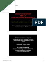 Video Web Psicologia Clinica e Medicina