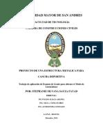Estructura Metálica, autor:EG-1448-Sauza Fayda, Stephanie Silvana (umsa)