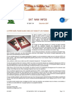 ANNEE 2007 Sat Nam Infos No 8 Decembre