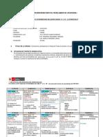 2 Planificador Programacion Secuencia de Sesiones