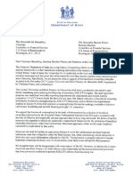 Delaware Letter Supporting Beneficial Ownership Transparency