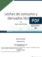 Alimentos I, Leches de Consumo y Derivados Lácteos VF
