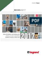 lista de precios Legrand Marzo 2017