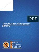 Dmgt524 Total Quality Management