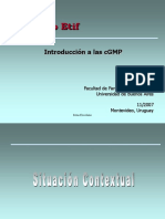 Introducción a Las cGMP Capacitación Básica