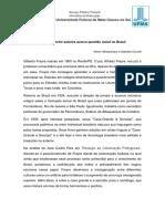 Relações Entre Autores Acerca Questão Racial No Brasil
