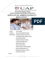 Monografia de Etica en El Ambito Clinico