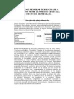 TEHNOLOGII MODERNE DE PROCESARE A MATERIILOR PRIME DE  ORIGINE VEGETALĂ ÎN INDUSTRIA ALIMENTARĂ.docx