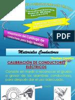 Nº 01 Calibración de Conductores Eléctricos