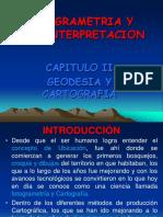 CAPITULO II FOTOGRAMETRIA GEODESIA Y CARTOGRAFIA.ppt