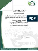 Certificado de Practicas Sheyla