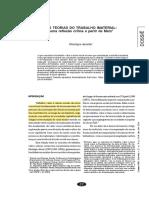 AMORIM Henrique - Teorias Do Trabalho Imaterial