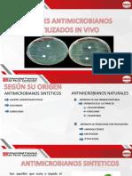 Agentes Antimicrobianos Utlizados (1)