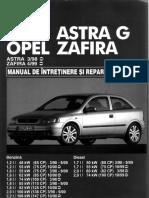 Manual Reparatii Opel Astra G