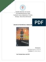 analisis autoestima jhon