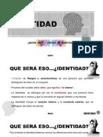 IDENTIDAD - Introduccion -Día 1