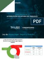 ENCUESTA ABORTO LEGAL