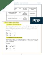 Tema 07 Sistemas de Ecuaciones 3º Eso