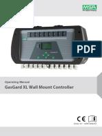 GasGard XL Operating Manual - GB