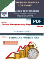 07. CPP - SEMANA 10 - Fórmula Polinómicaxgjxgjjxx