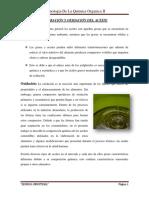 Alteración y Oxidación Del Aceite
