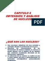 Obtensión y Análisis de Nucleos