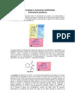Edulcorantes y Azúcares Artificiales