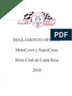 Reglamento de MCCR 2010