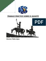 Trabajo Práctico Sobre El Quijote
