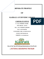 Kairali Corporate Profile