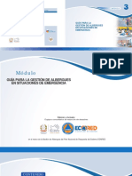 Guía Para La Gestión de Albergues en Situaciones de Emergencia CONRED