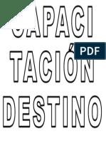 Capacitacion Destino