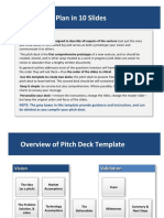10-Slide Pitch Deck Template