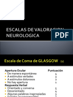 Escalas de Evaluacion Neurologica
