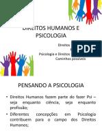 Direitos Humanos e Psicologia