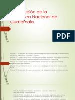 Constitución de La Republica Nacional de Guatemala