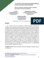 GESTIÓN ESTRATÉGICA DE RECURSOS TECNOLÓGICOS EN PEQUEÑAS EMPRESAS DE MANUFACTURA ESTUDIO DE CASO EN ARGENTINA.pdf